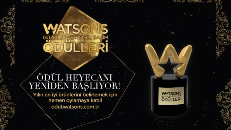 7. Watsons Güzellik ve Kişisel Bakım Ödülleri İçin Oylamalar Başladı!