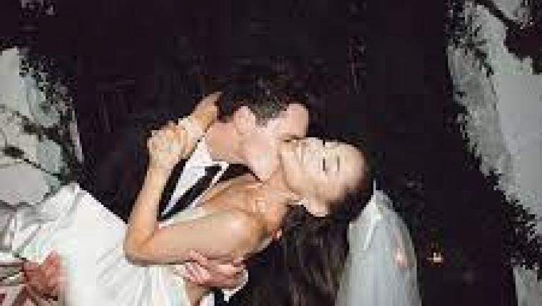 Ariana Grande'nin Sürpriz Nikah Fotoğrafları Yayınlandı