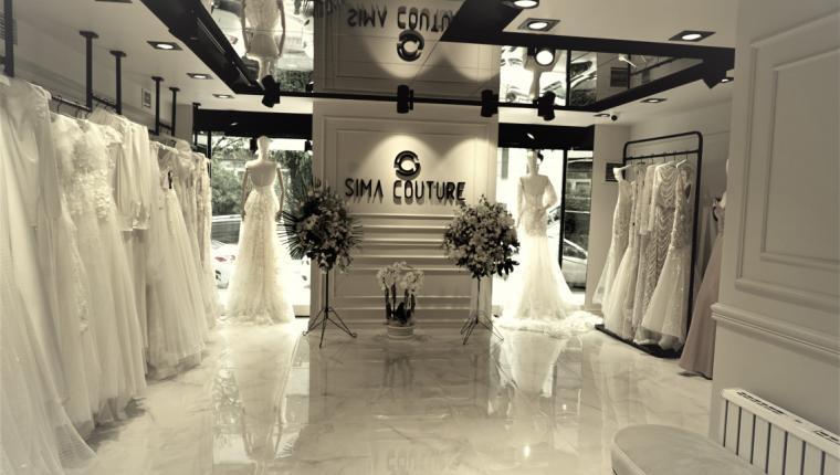 Avrupalı Gelinlik Markası 'SİMA COUTURE'  Yeni Mağazası'yla İstanbul'da