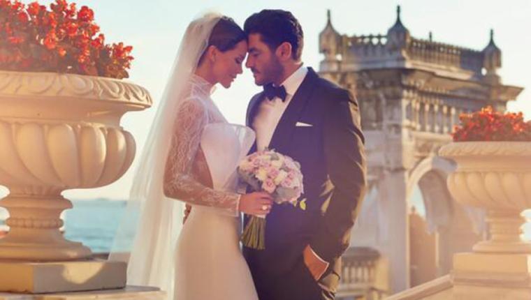 Çırağan'da Evlendiler