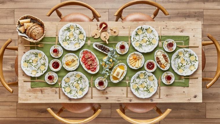 Lemonade Kahvaltı Takımı ile Yaz Mevsimi Sofralara Geliyor