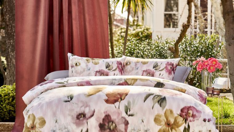 Linens ile Yatak Odalarına Floral Dokunuşlar
