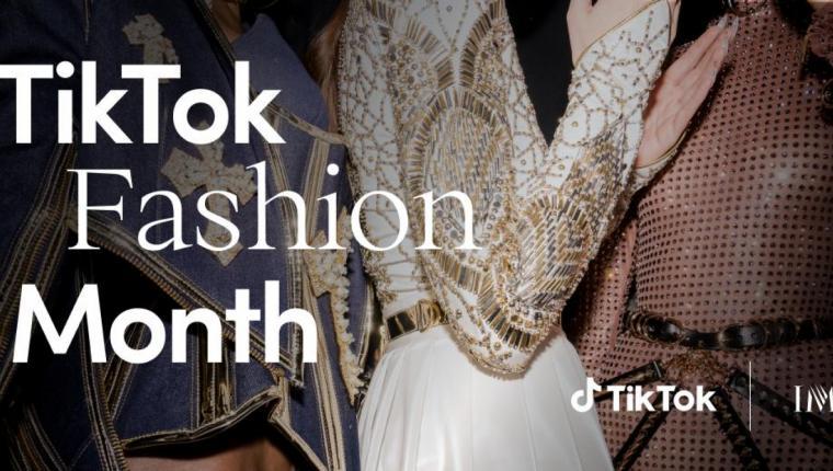 TikTok Moda Dünyasına Davet Ediyor.