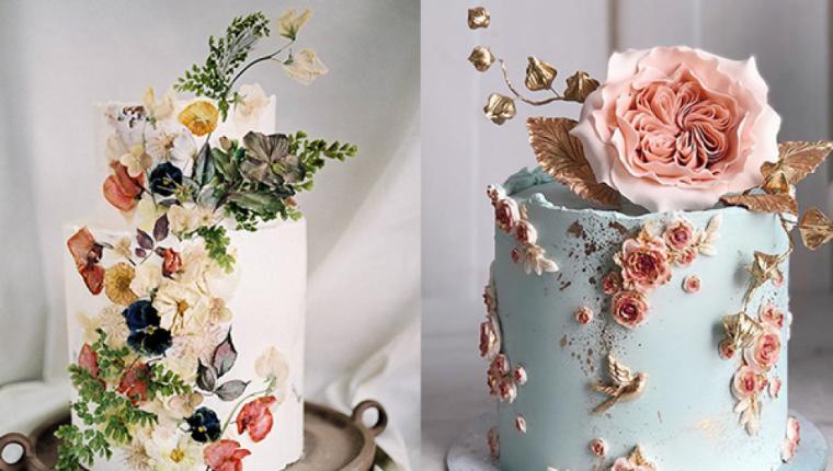 Trend Alarmı: 2021'in Düğün Pastaları