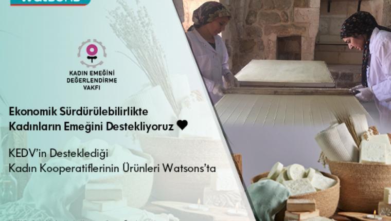 Watsons Ekonomik Sürdürülebilirlikte Kadın Emeğini Destekliyor!